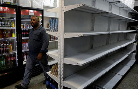 В супермаркете в Каракасе, Венесуэла.