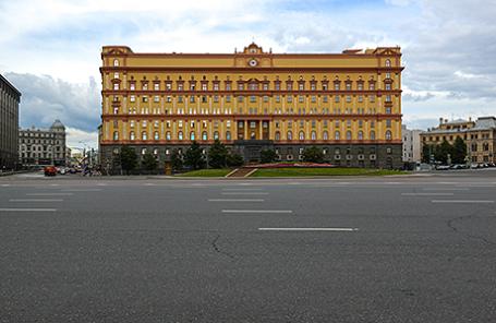 Здание ФСБ РФ на Лубянской площади.