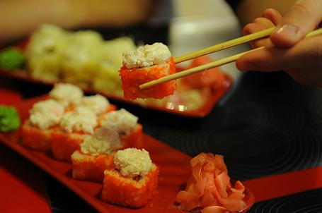 Ресторан японской кухни.
