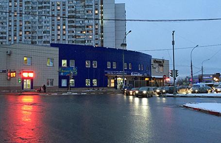 Фото снесенного торгового центра, принадлежавшего ООО «Созидание».