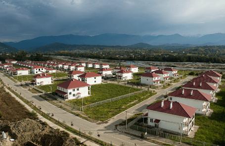 Коттеджный поселок в микрорайоне Веселое-Псоу