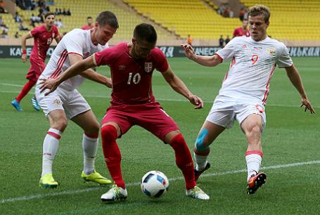 Товарищеский матч по футболу: Сербия — Россия — 1:1