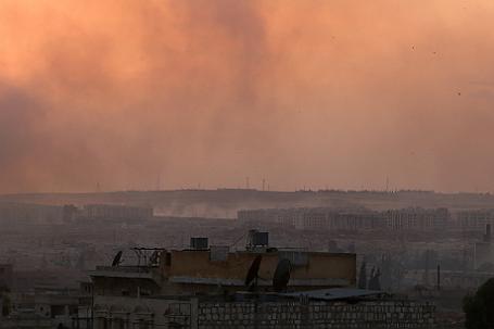 Пригород Алеппо, Сирия.