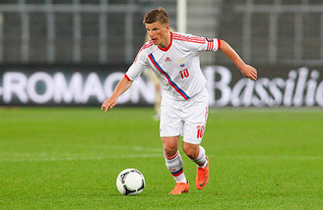 Футболист Андрей Аршавин.