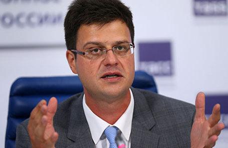 Директор департамента развития внутренней торговли, легкой промышленности и потребительского рынка Минпромторга РФ Никита Кузнецов.