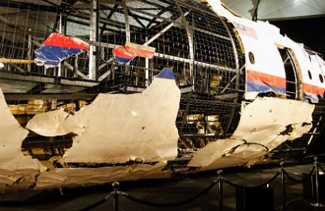 Обломки самолета, разбившегося в Донбассе летом 2014 года.