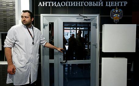 Сотрудник Московского антидопингового центра.