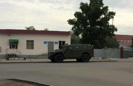 База национальной гвардии после нападений в Актобе.