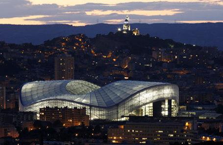 Стадион Велодром в Марселе.