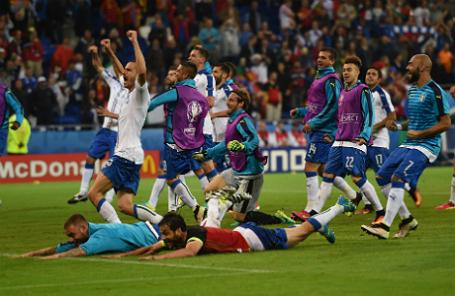 Чемпионат Европы по футболу — 2016. Бельгия — Италия 0:2.