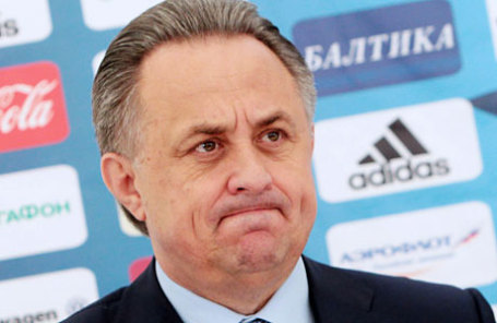 Министр спорта РФ, президент Российского футбольного союза (РФС) Виталий Мутко.
