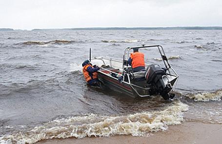 Спасательная операция в Карелии, 19 июня 2016.
