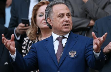 Министр спорта РФ, президент Российского футбольного союза (РФС) Виталий Мутко