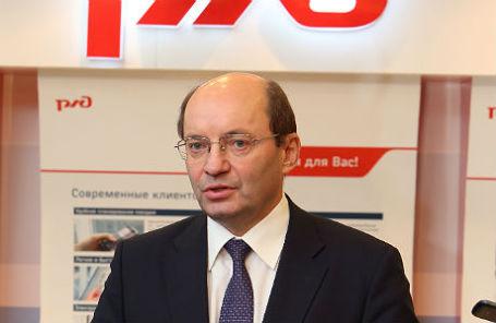 Первый вице-президент РЖД Александр Мишарин.