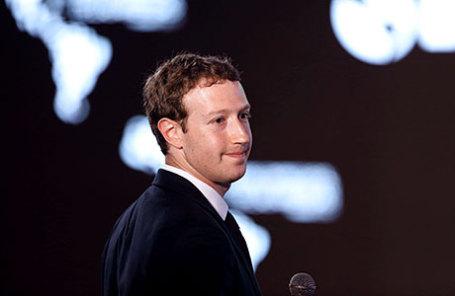 Руководитель компании Facebook Марк Цукерберг.