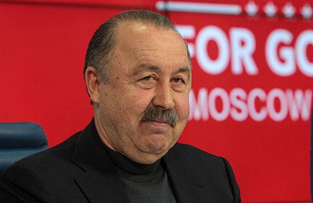 Советский футболист, футбольный тренер Валерий Газзаев.