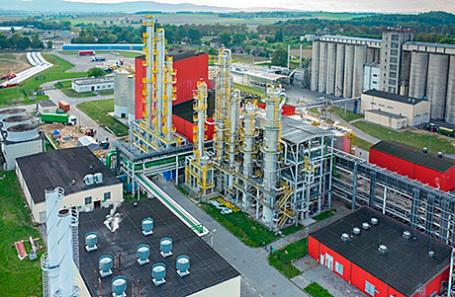 Фабрика по производству биотоплива.