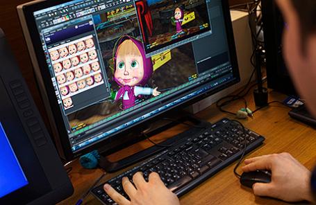 Производство новых серий анимационного сериала «Маша и медведь».