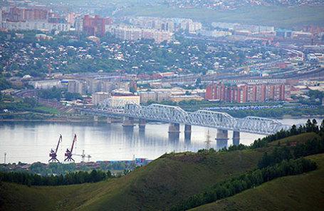 Панорама Красноярска.