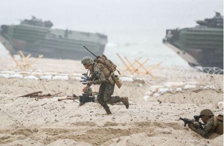 Военные учения НАТО.