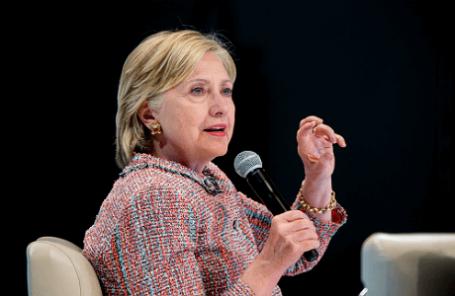 Предвыборная кампания кандидата в президенты США от Демократической партии Хиллари Клинтон в Денвере