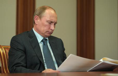 Песков: Путин подписал нетот закон оРосгвардии