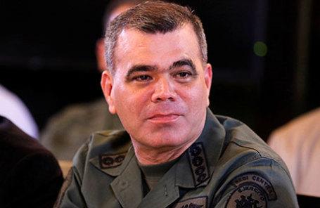 Министр обороны Венесуэлы Владимир Падрино Лопес.