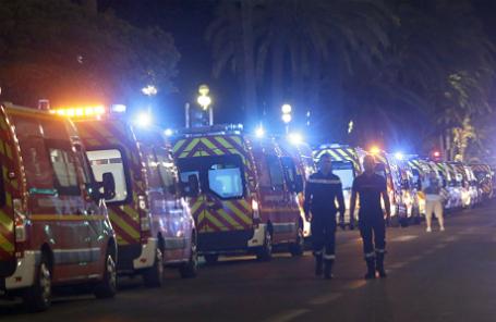 После теракта в Ницце.