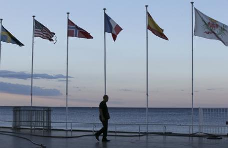 На набережной Ниццы после теракта.