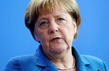 Ангела Меркель.