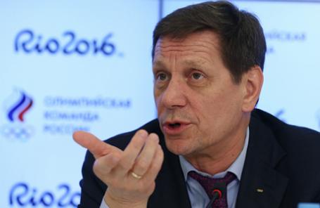 Президент Олимпийского комитета России, первый вице-спикер Госдумы РФ Александр Жуков.