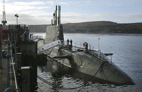 Атомная подводка лодка Ambush.