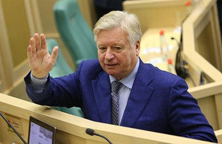 Почетный президент Олимпийского комитета России Леонид Тягачев.