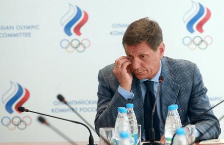 Президент Олимпийского комитета России, первый вице-спикер Госдумы РФ Александр Жуков