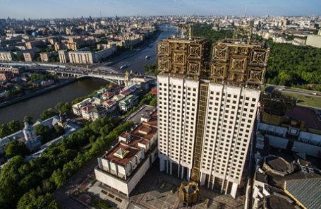 Вид на здание Российской академии наук (РАН).