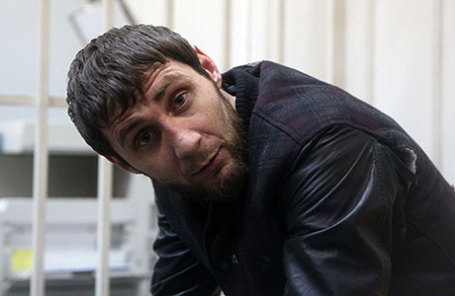Заур Дадаев, подозреваемый в убийстве политика Бориса Немцова.