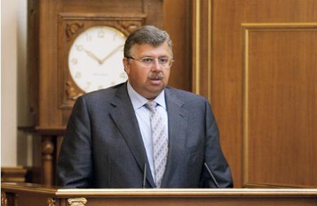 Руководитель Федеральной таможенной службы (ФТС) Андрей Бельянинов.