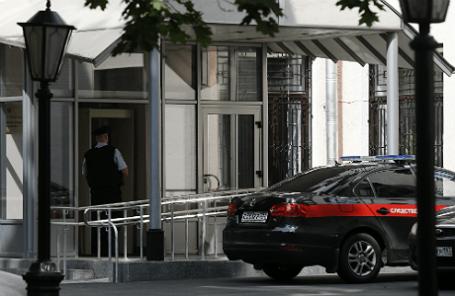 У здания Главного следственного управления СК РФ по Москве