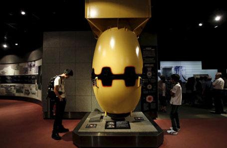 Прототип атомной бомбы, сброшенной на Нагасаки.