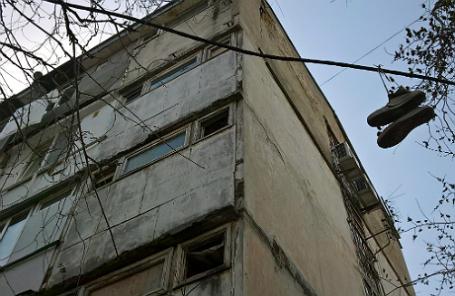 Аварийное общежитие в Ялте.