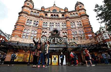 Театр Palace  в Лондоне, где идет спектакль «Гарри Поттер и проклятое дитя».