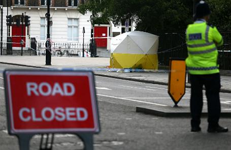 После нападения в центре Лондона.
