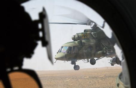 Российский многоцелевой вертолет «Ми-8».