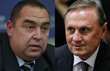 Игорь Плотницкий и Александр Ефремов (слева направо).