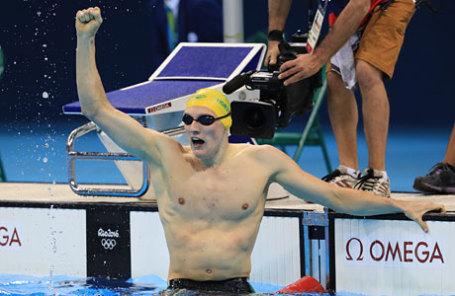 Австралийский пловец Мак Хортон.