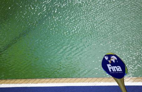 Бассейн в центре водных видов спорта имени Марии Ленк.