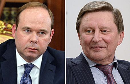 Антон Вайно и Сергей Иванов (слева направо).