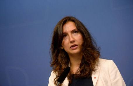 Шведский министр образования Аида Хаджиалич.
