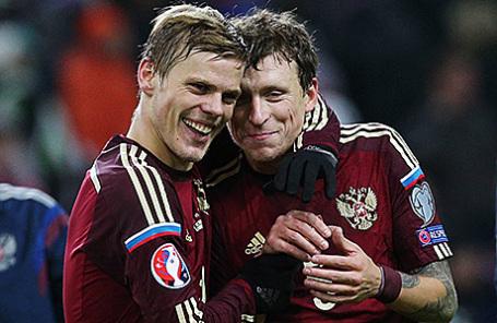 Александр Кокорин и Павел Мамаев (слева направо).