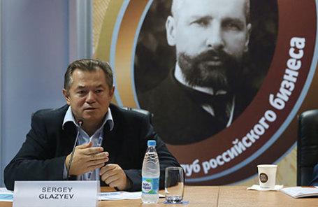 Cоветник президента России Сергей Глазьев.